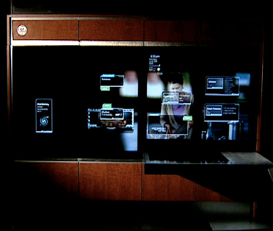 GE Kitchen Dashboard